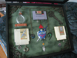 Zelda Shadow Box Open by DoranBladefist