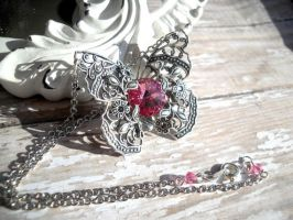 Butterfly Kisses Pink by ClassicKeepsakes