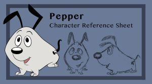 Pepper Reference Sheet by AriellaMay
