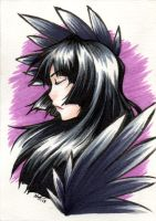 ACEO - Raven's Flight by sotwnisey