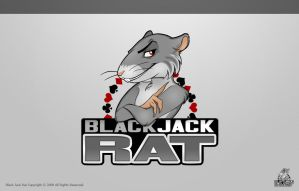 BlackJack Rat by eyenod