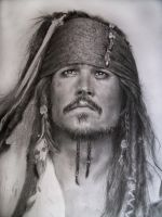Jack Sparrow WIP by LaPicher