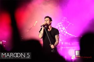 Maroon 5 Live in Dubai by larzlayno
