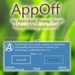 AppOff - Configure Application Compatibility Check by abhishekbest432