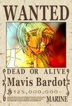 Mavis Wanted Poster by urimaginaryfriend