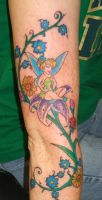 Tinkerbell design by Shadowtat