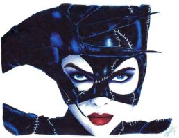 Michelle Pfeiffer - Catwoman by davidgozu