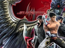 Jin Kazama official wallpaper by jin-05