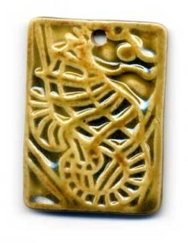 Seahorse Pendant by Chinook by Beads-of-Clay