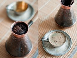 Turkish coffee by Moonnight