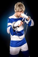 Street Fighter: Cody Cosplay from AWA by littleIVIac
