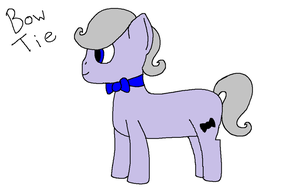 Bow Tie - New OC by NyctoScoto