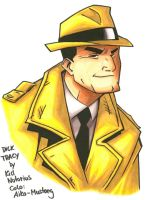 Dick Tracy by Aiko-Mustang
