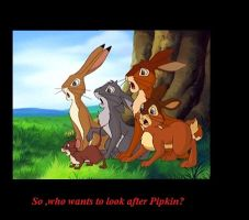 Funny Watership Down 14 by CrispinVCampion