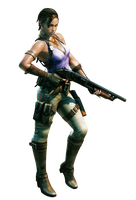 Sheva #2 RE5 - Professional Render by Allan-Valentine
