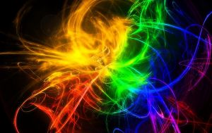Abstract color Wallpaper by Jindra12