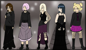 Kunoichi - Goth fashion by mayanna