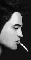 robert pattinson by Catcorpse