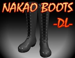 Sep-Series - Nakao long boots -DL- by TehPuroisen