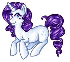 Rarity Sticker by Nonsensical-Me