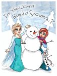 Do You Wanna Build a Snowman? by Pooky-di-Bear