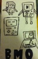 BMO doodles by Fairybunny27