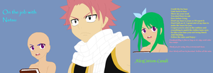 On the job with Natsu by AlexCotton-Candi