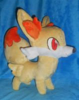Pokemon XY Fennekin Plush by Sophillia