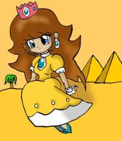 Princess Daisy by SweetAnimeGirl