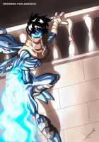 Drawing Raziel Soul Reaver by Sersiso