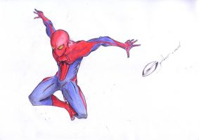 The Amazing Spider-Man work in progress part 2 by MrSteph06220
