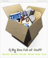 Big Box Full of Stuff by Carvetia