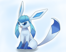 Glaceon by PrincePiePlant