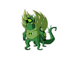 Ben 10K Biomnitrix Fusion - ChuckVine by TheRedJoker351