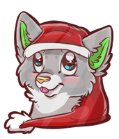 Christmas Headshot cutie by Madeleneerpen