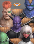 Ginyu Special Forces by UniversalArtGallery