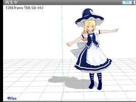 MMD Marisa TH135 ver DL by cacan180