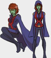 Miss Martian Season 3 by seraphatonin