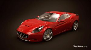 ferrari california studio by teamgandaia3