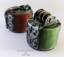 Steampunk Jewelry box 2-3 by Diarment