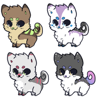 Puppy Adoptables Auction CLOSED by SquidPup