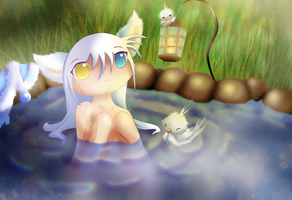 Hotspring. by chicinlicin