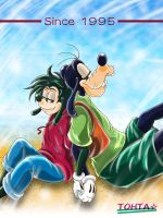 A Goofy movie by TOHTA