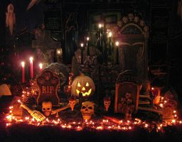 Halloween Decor Interior 2 by EVysther