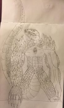 Super killer croc by zillaboy2017