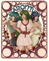 Charon Tura. Sisters by VonHollde