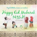 Happy Eid Mubarak! by sitidini