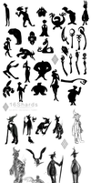 Progress of Character Design by 16Shards