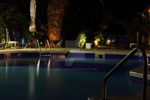 Hotel Pool by RickyRees