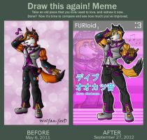 Draw this again: Dave by Wolfan-foxD